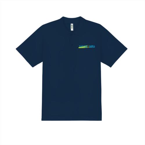 「GARAGE AURA様」のオリジナルポロシャツデザイン