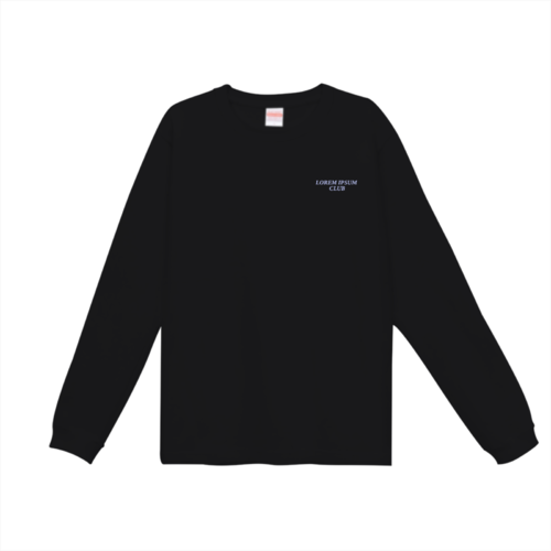 「LOREM IPSUM CLUB様」のオリジナルTシャツデザイン