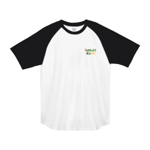 「SummEr sEaloVE」文字デザインのオリジナルTシャツ