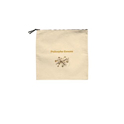 「Psilocybe Groove」の文字とイラストデザインのオリジナルバッグ