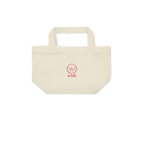 「wish」ロゴデザインのオリジナルトートバッグ