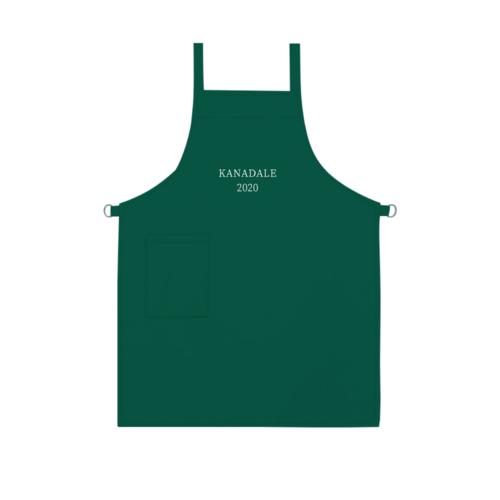 「KANADALE様」のオリジナルエプロンデザイン