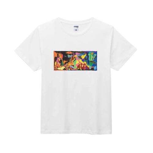 絵画作品をプリントしたオリジナルTシャツ