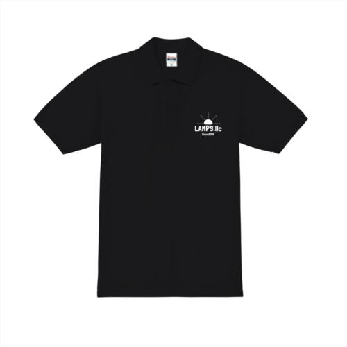 「LAMPS様」のオリジナルポロシャツデザイン