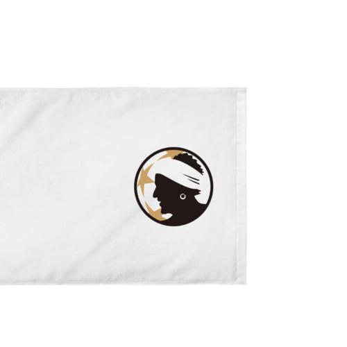 オリジナルのロゴをプリントデザインしたオリジナルタオル