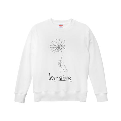「lorraine」イラストデザインのオリジナルスウェット