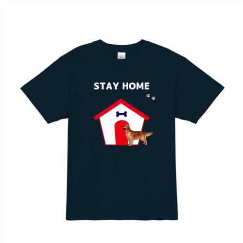 STAY HOME! オリジナルプリントTシャツ