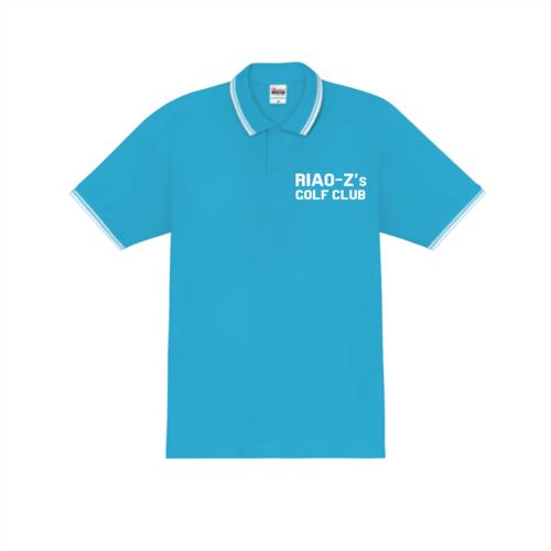 「RIAO-Z's GOLF CLUB様」のオリジナルポロシャツデザイン