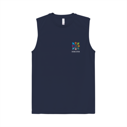 「HIRATES」のロゴをプリントしたオリジナルTシャツ