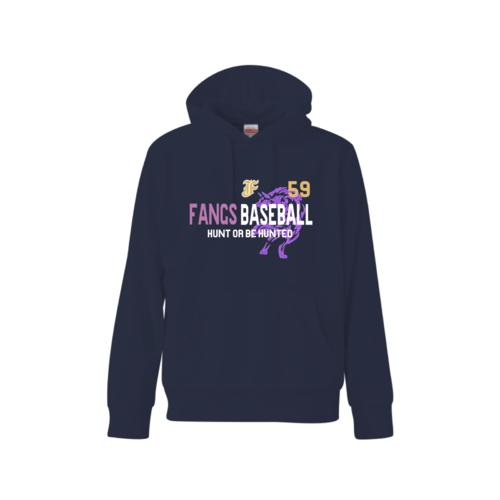 B.B FANGS BASEBALL TEAM様のオリジナルチームパーカー