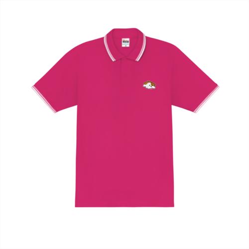 犬のイラストデザインのオリジナルポロシャツ