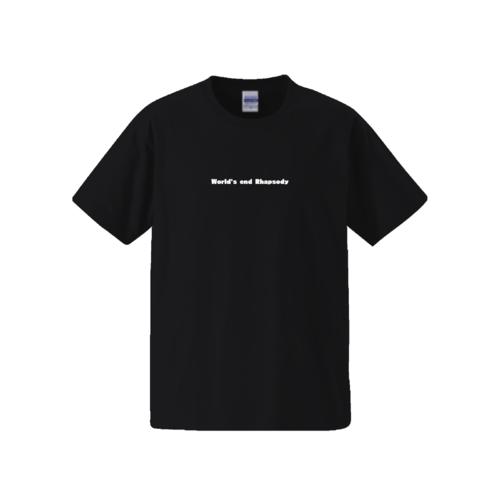 「World's end Rhapsody」文字デザインのオリジナルTシャツ