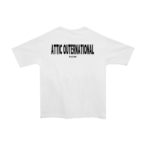 「ATTIC OUTERNATIONAL様」のオリジナルTシャツデザイン