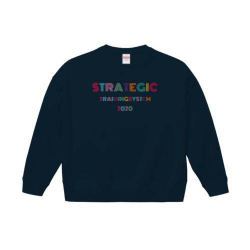 「STRATEGIC TRAINING SYSTEM様」のオリジナルスウェットデザイン