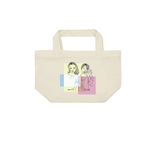 似顔絵イラストデザインのオリジナルトートバッグ