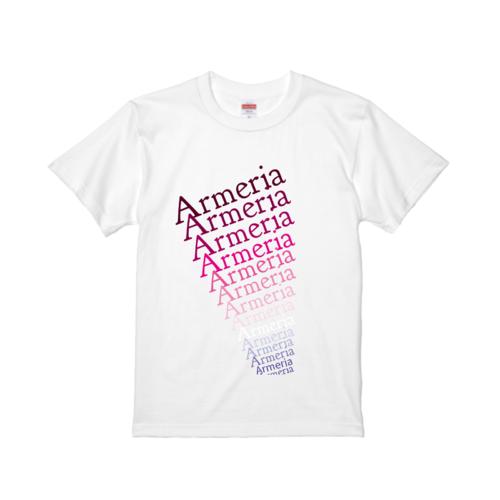 「Armeria」グラデーションデザインのオリジナルTシャツ