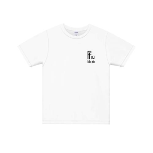 「Fake-fio」ロゴデザインのオリジナルTシャツ