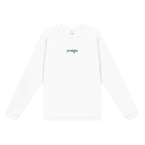 「prologue」デザインのオリジナルTシャツ