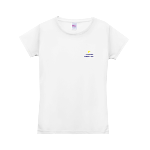 「Curling team MY KARUIZAWA」様のオリジナルTシャツデザイン