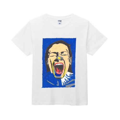描いた絵をプリントしたオリジナルTシャツ