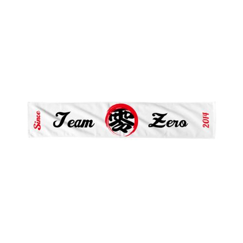 「Team ZERO様」のオリジナルタオルデザイン