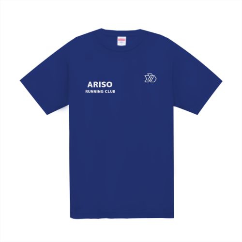 「ARISO RUNNING CLUB」様のオリジナルTシャツデザイン