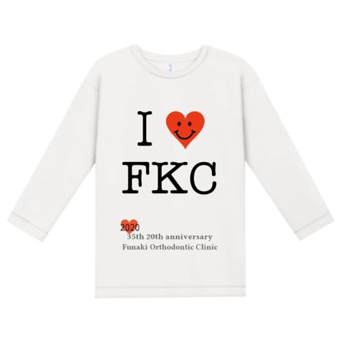 「ふなき矯正歯科様」のオリジナルTシャツデザイン