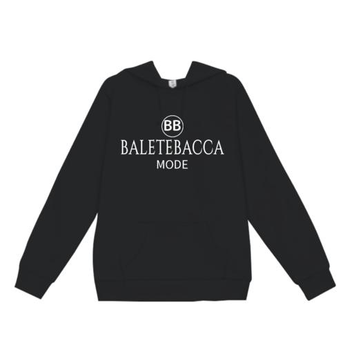 「BALETEBACCA」デザインのオリジナルパーカー