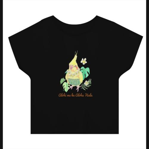 鳥のイラストをデザインしたオリジナルTシャツ