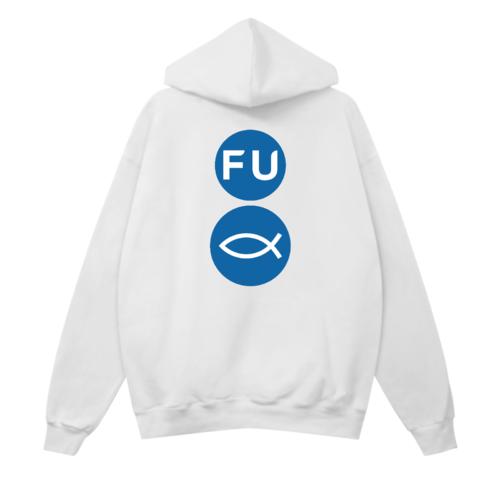 「FU」ロゴデザインのオリジナルパーカー