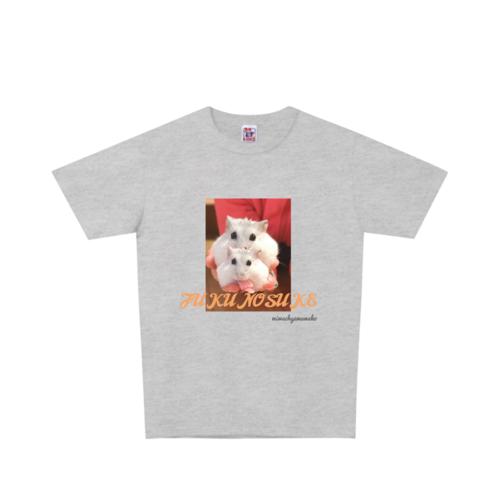 ハムスターの写真をプリントしたオリジナルTシャツ