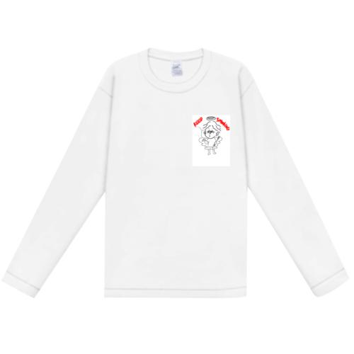 オリジナルイラストをワンポイントデザインしたオリジナルTシャツ