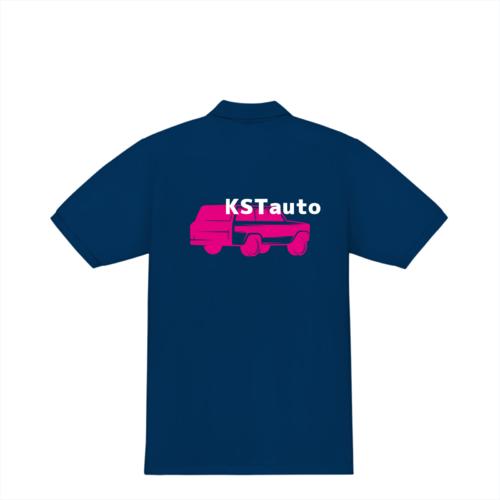 「KSTauto様」のオリジナルポロシャツデザイン