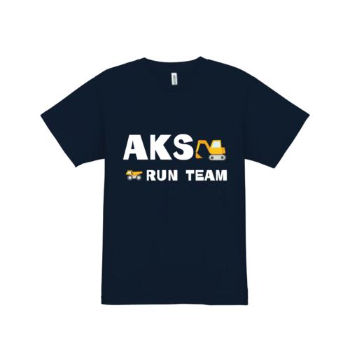 AKS RUN TEAMのオリジナTシャツ