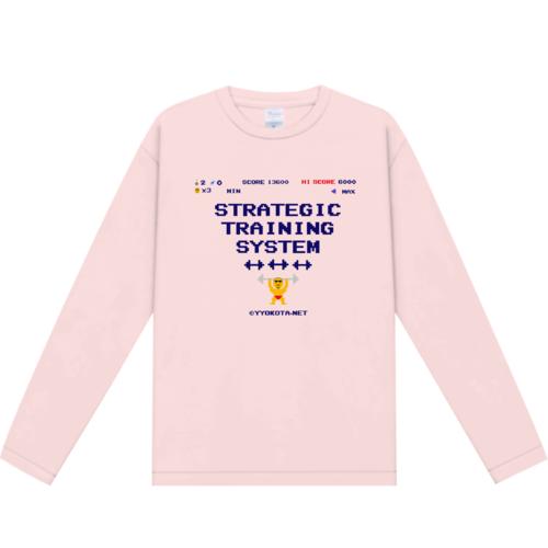 STRATEGIC TRAINING SYSTEM様のオリジナルTシャツデザイン