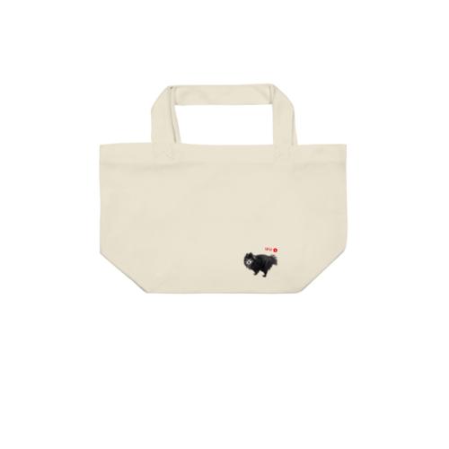 愛犬「はな」の写真でデザインしたオリジナルトートバッグ