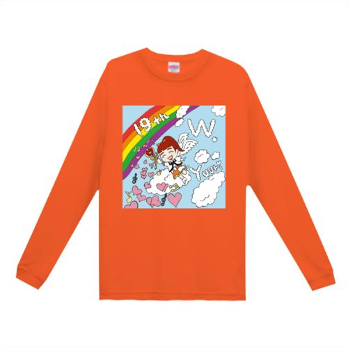 オリジナルのイラストをプリントしたオリジナルTシャツ