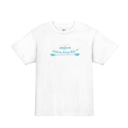 カヤック、川下りなどウォータースポーツのスタッフTシャツにもぴったりなオリジナルTシャツ
