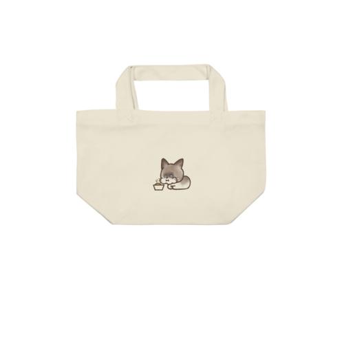 ネコのイラストでデザインしたオリジナルトートバッグ