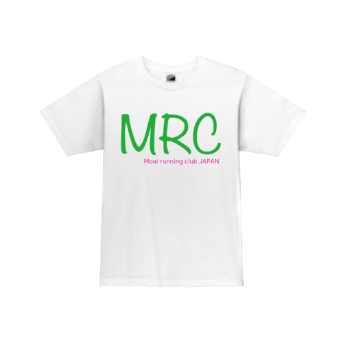 「Moai running club JAPAN様」オリジナルTシャツデザイン