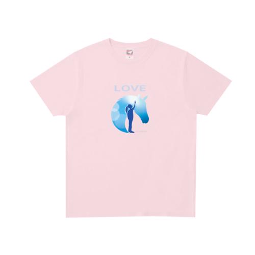 「LOVE」イラストデザインのオリジナルTシャツ