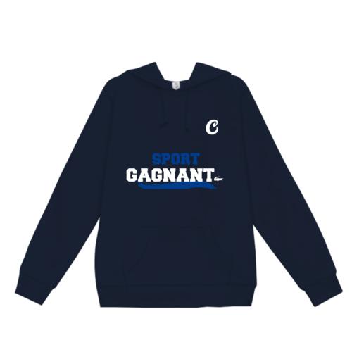 「SPORT GAGNANT様」のオリジナルパーカーデザイン