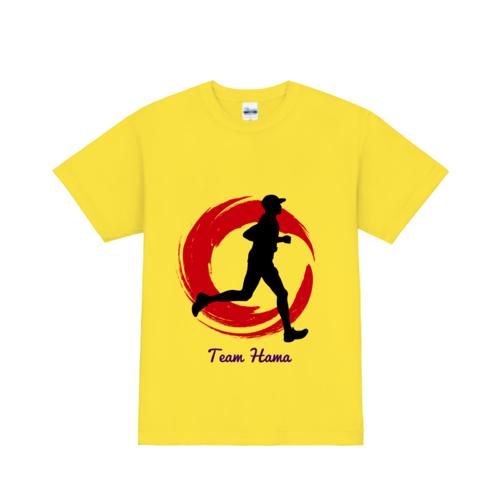 「Team Hama」様のオリジナルTシャツデザイン