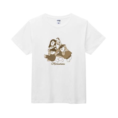 オリジナルのキャラクターをプリントしたオリジナルTシャツ